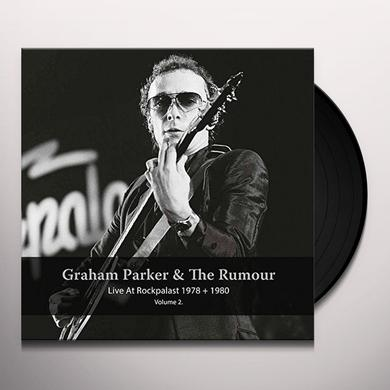 Graham Parker / Rumour LIVE AT ROCKPALAST 1978 & 1980 - VOL 2 Vinyl Record
