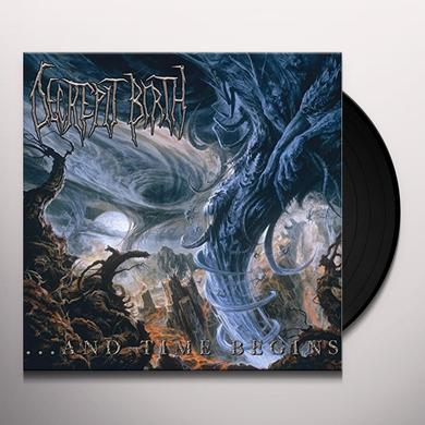 Decrepit Birth & TIME BEGINS Vinyl Record