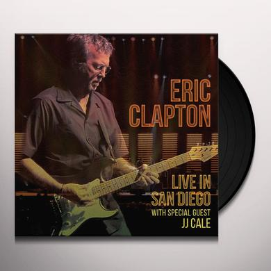 Eric Clapton LIVE IN SAN DIEGO (WITH SPECIAL GUEST JJ CALE) Vinyl Record
