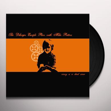Dillinger Escape Plan IRONY IS A DEAD SCENE Vinyl Record