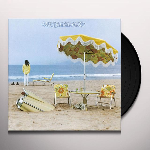 Neil Young ON THE BEACH Vinyl Record