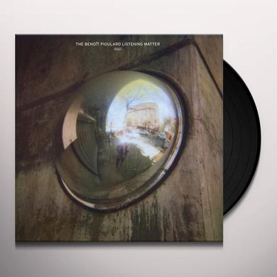 BENOIT PIOULARD LISTENING MATTER Vinyl Record
