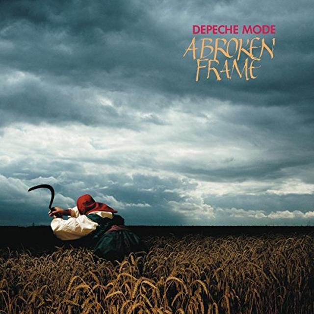 Depeche Mode BROKEN FRAME Vinyl Record - UK Import