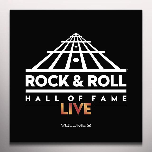 ROCK N ROLL HALL OF FAME LIVE: 2 Vinyl Record - Colored Vinyl, Limited Edition
