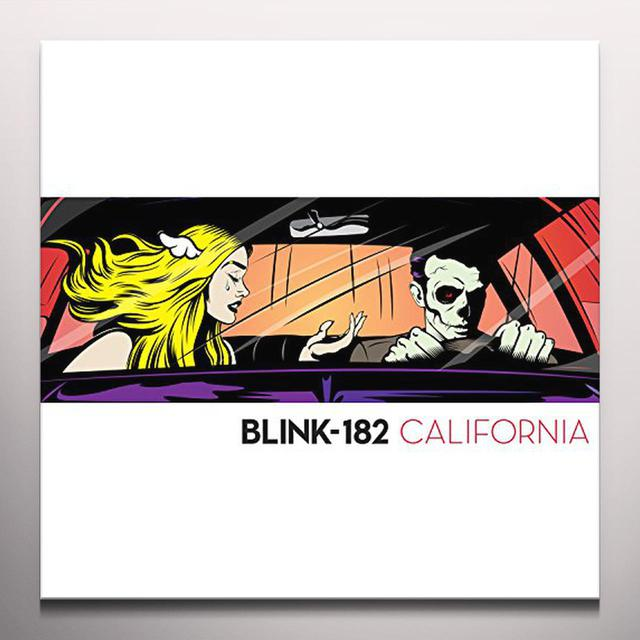 Blink 182 CALIFORNIA Vinyl Record