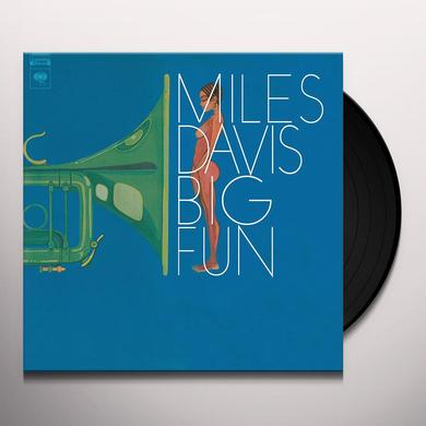 Miles Davis BIG FUN Vinyl Record - Holland Import