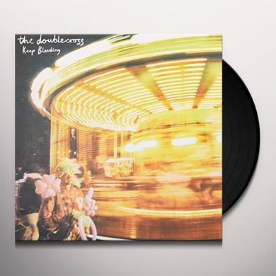 DOUBLE CROSS KEEP BLEEDING Vinyl Record