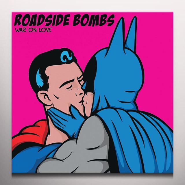 ROADSIDE BOMBS WAR ON LOVE Vinyl Record - Colored Vinyl, Digital Download Included