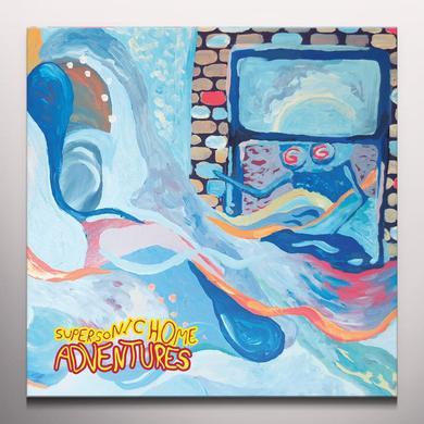 Adventures SUPERSONIC HOME Vinyl Record - Orange Vinyl