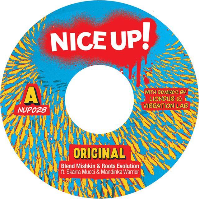 BLEND MISHKIN & ROOTS EVOLUTION ORIGINAL Vinyl Record