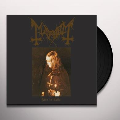 Mayhem LIVE IN ZEITZ Vinyl Record