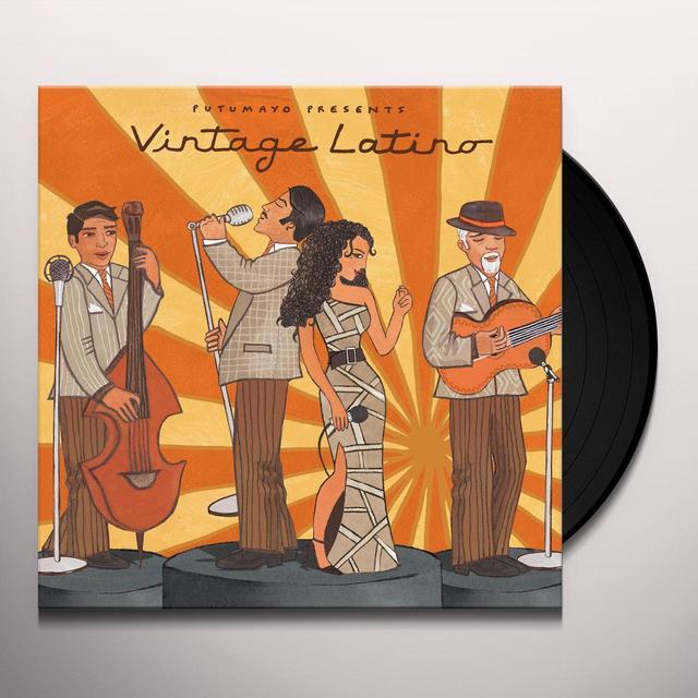 Putumayo Presents VINTAGE LATINO Vinyl Record