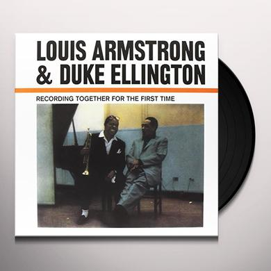 Louis Armstrong & Duke Ellington RECORDING TOGETHER FOR THE FIRST TIME Vinyl Record