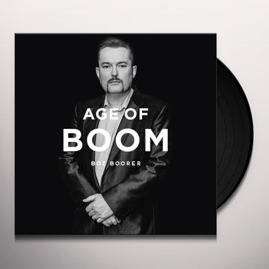 Boz Boorer AGE OF BOOM Vinyl Record - UK Release