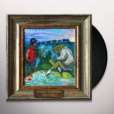John Hassall & April Rainers WHEELS TO IDYLL Vinyl Record - UK Import