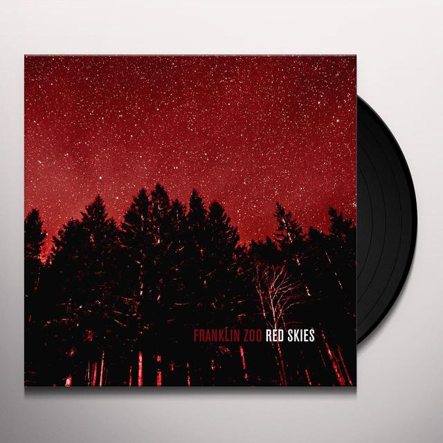 FRANKLIN ZOO RED SKIES Vinyl Record