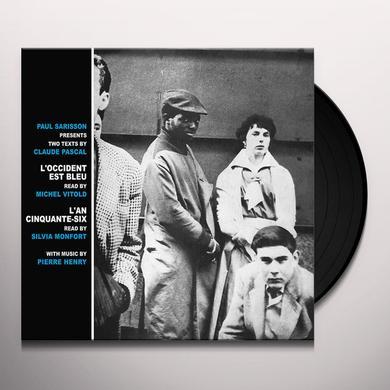 Pierre Henry / Michel Vitold / Silvia Monfort L'OCCIDENT EST BLEU / L'AN CINQUANTE-SIX Vinyl Record