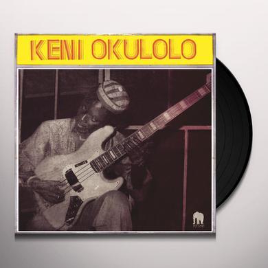 Keni Okulolo TALKIN' BASS EXPERIENCE Vinyl Record