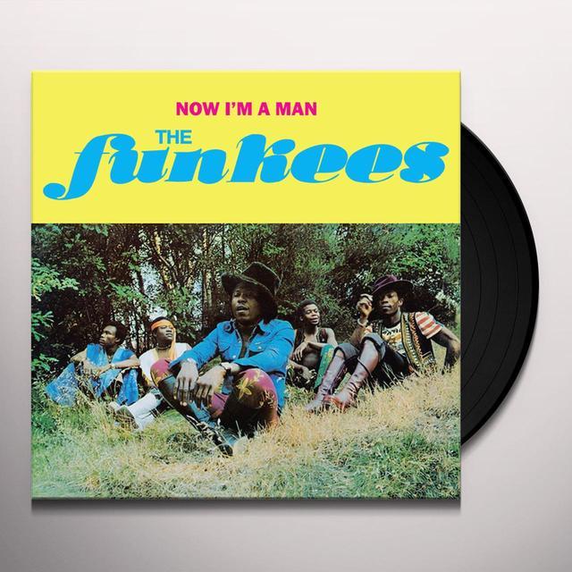 Funkees NOW I'M A MAN Vinyl Record