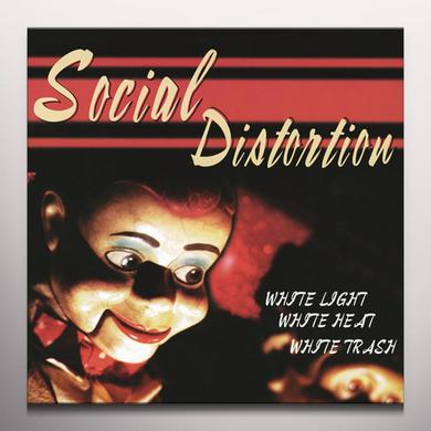 Social Distortion WHITE LIGHT WHITE HEAT WHITE TRASH Vinyl Record - Colored Vinyl, White Vinyl