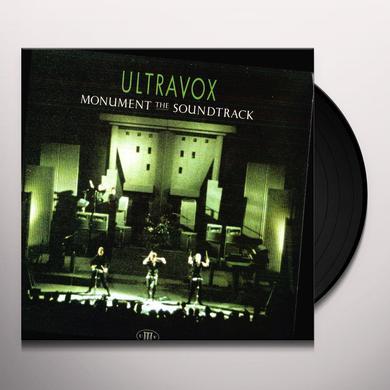 Ultravox MONUMENT Vinyl Record