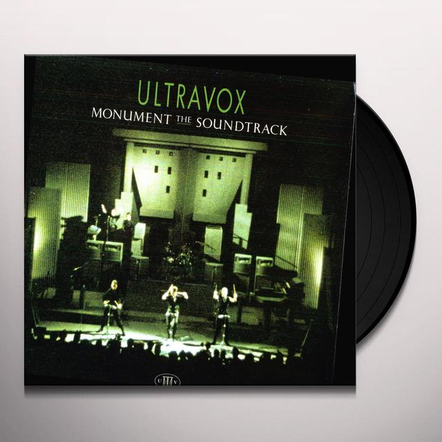 Ultravox MONUMENT Vinyl Record
