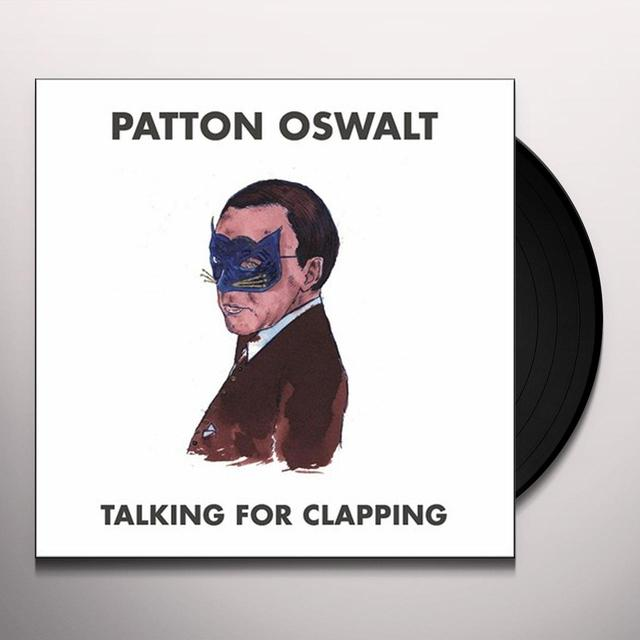 Patton Oswalt TALKING FOR CLAPPING Vinyl Record