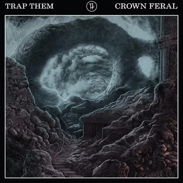 Trap Them CROWN FERAL Vinyl Record - Black Vinyl, Colored Vinyl