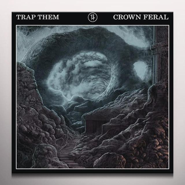 Trap Them CROWN FERAL Vinyl Record - Black Vinyl, Colored Vinyl