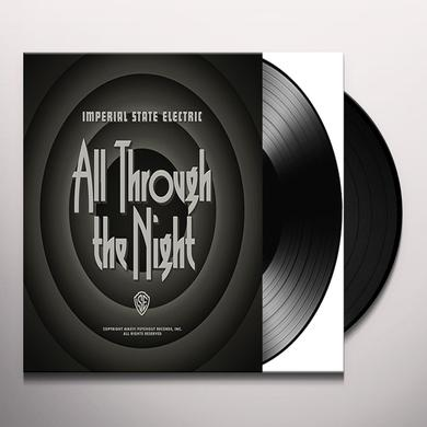 Imperial State Electric ALL THROUGH THE NIGHT Vinyl Record - Black Vinyl, Digital Download Included