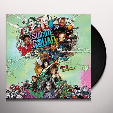 Steven Price SUICIDE SQUAD - ORIGINAL SCORE Vinyl Record