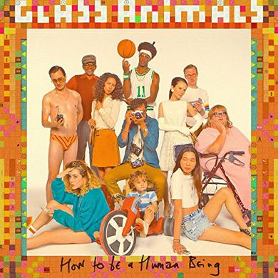 Glass Animals HOW TO BE A HUMAN BEING: DELUXE EDITION Vinyl Record