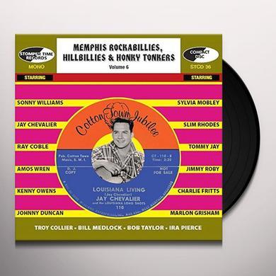 MEMPHIS ROCKABILLIES HILLBILLIES & HONKY 6 / VAR Vinyl Record