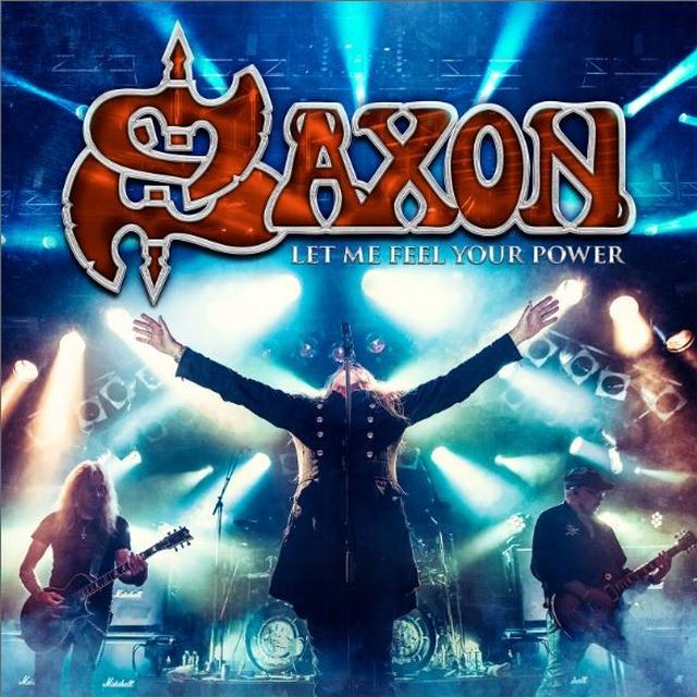 Saxon LET ME FEEL YOUR POWER Vinyl Record - UK Import