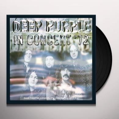 Deep Purple LIVE IN CONCERT 72 Vinyl Record