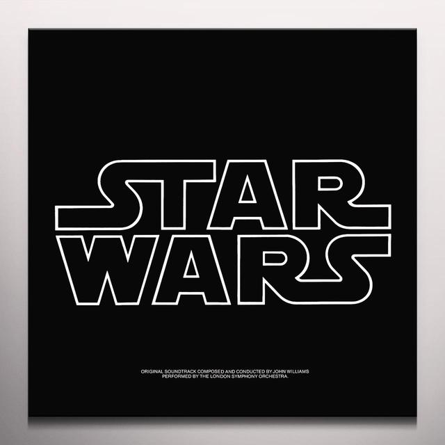 John Williams STAR WARS: EPISODE IV - A NEW HOPE Vinyl Record - Colored Vinyl, Gatefold Sleeve