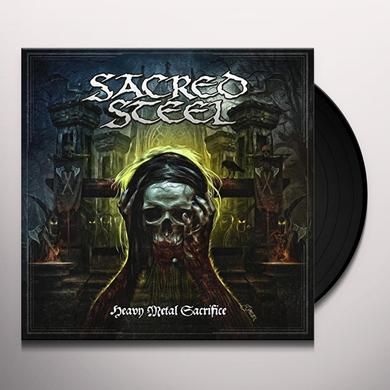 Sacred Steel HEAVY METAL SACRIFICE Vinyl Record