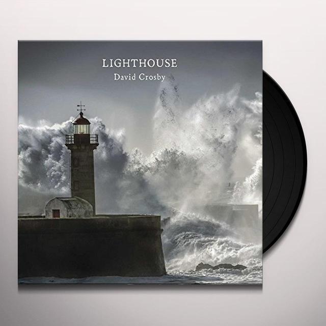 David Crosby LIGHTHOUSE Vinyl Record
