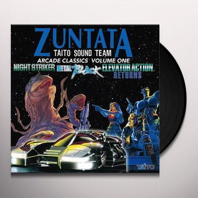 ZUNTATA / TAITO SOUND TEAM ARCADE CLASSICS VOL. 1 / O.S.T. Vinyl Record
