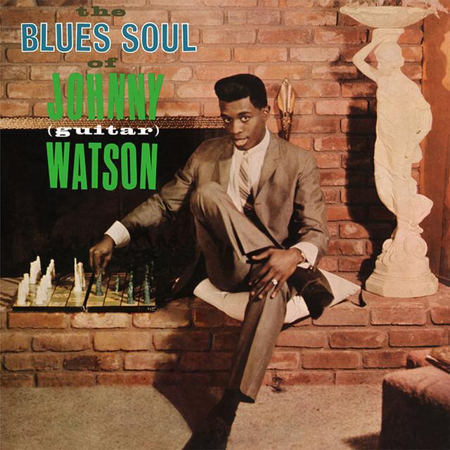 Johnny Watson BLUES SOUL OF JOHNNY (GUITAR) WATSON Vinyl Record