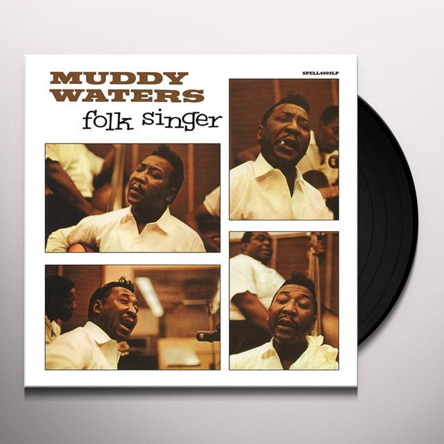 Muddy Waters FOLK SINGER Vinyl Record