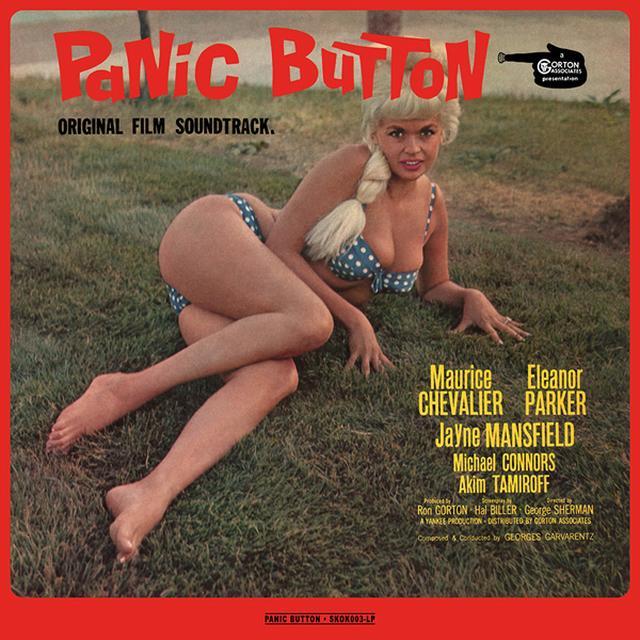 Georges Garvarentz PANIC BUTTON - O.S.T. Vinyl Record