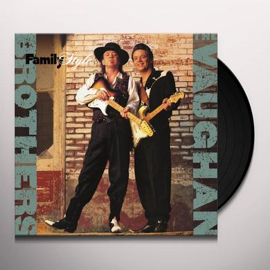 Vaughan Brothers FAMILY STYLE Vinyl Record - 200 Gram Edition