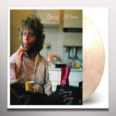Benny Sings BENNY... AT HOME (BONUS TRACKS) Vinyl Record - Limited Edition, Red Vinyl, White Vinyl