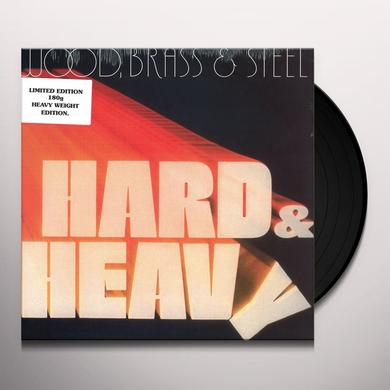 WOOD BRASS & STEEL HARD & HEAVY Vinyl Record