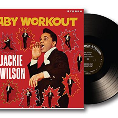 Jackie Wilson BABY WORKOUT Vinyl Record