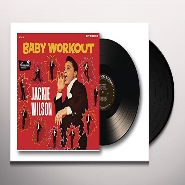 Jackie Wilson BABY WORKOUT Vinyl Record - UK Import
