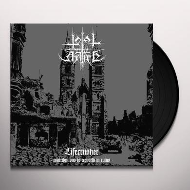 TOTAL HATE LIFECRUSHER: CONTRIBUTIONS TO A WORLD IN RUINS Vinyl Record