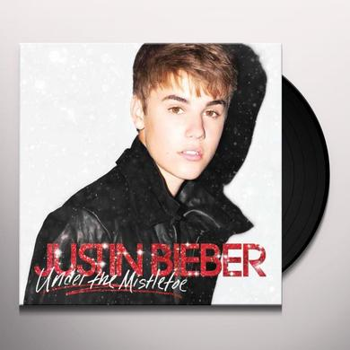 Justin Bieber UNDER THE MISTLETOE Vinyl Record
