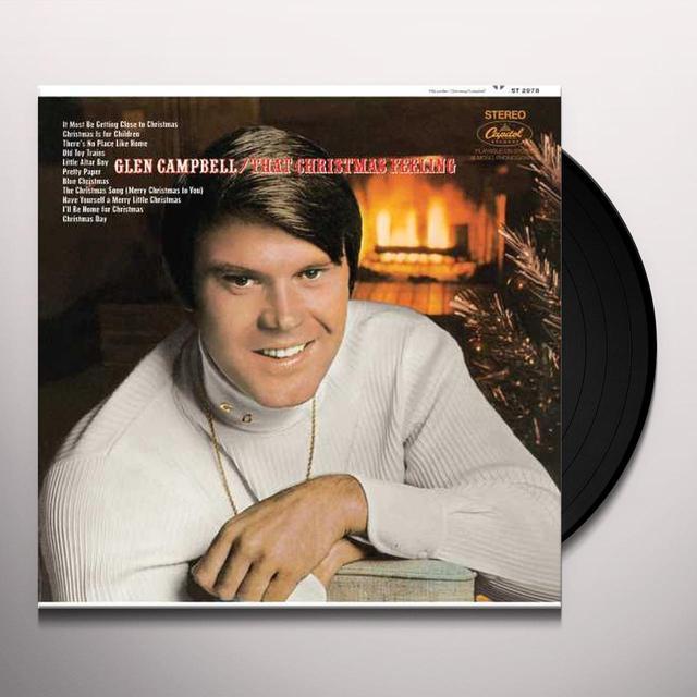 Glen Campbell THAT CHRISTMAS FEELING Vinyl Record